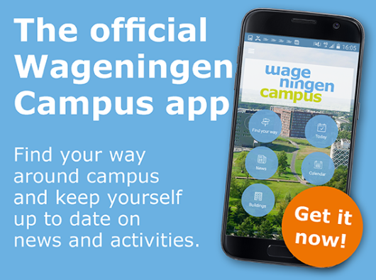 The official Wageningen Campus app