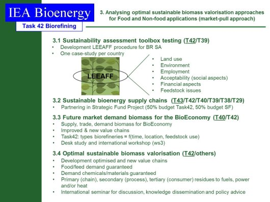 Analysing optimal sustainable biomass valorisation approaches for food and non-food applications (market-pull approach